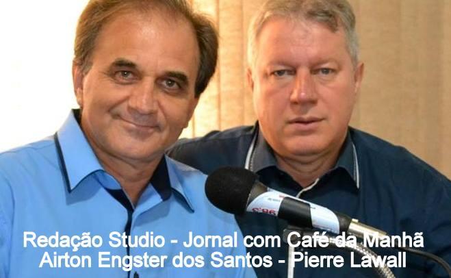Airton Engster dos Santos e Pierre Lawall