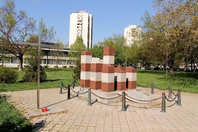 Spomenik palim braniteljima iz Zapruđa - Miroslav Šutej