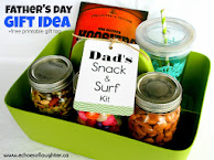 Dad&#39;s Snack &amp; Surf Kit +Free Printable Tag
