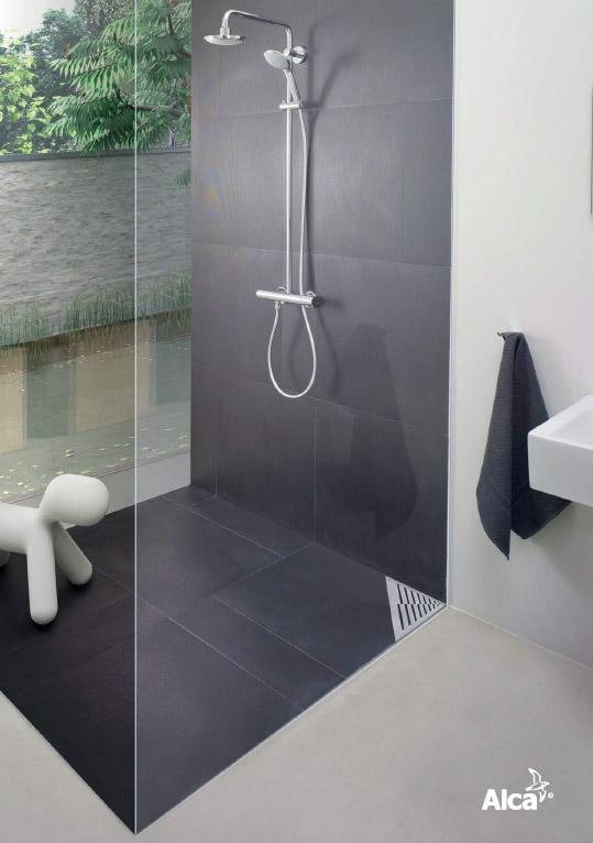 Как установить сантехнику Alcaplast - водоотводящий желоб, душевой трап и систему инсталляции для унитаза?