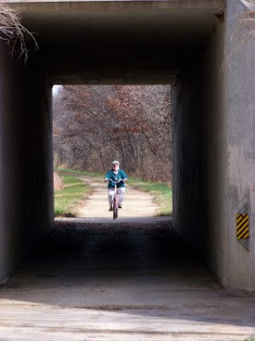 Rail Tunnel on Old 400 Trail