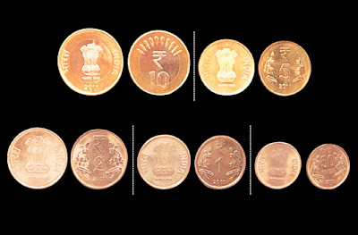 New Indian Coin Series with Rupee Symbol