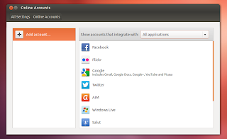 ubuntu 12.10 quantal quetzal beta 1 online accounts screenshot