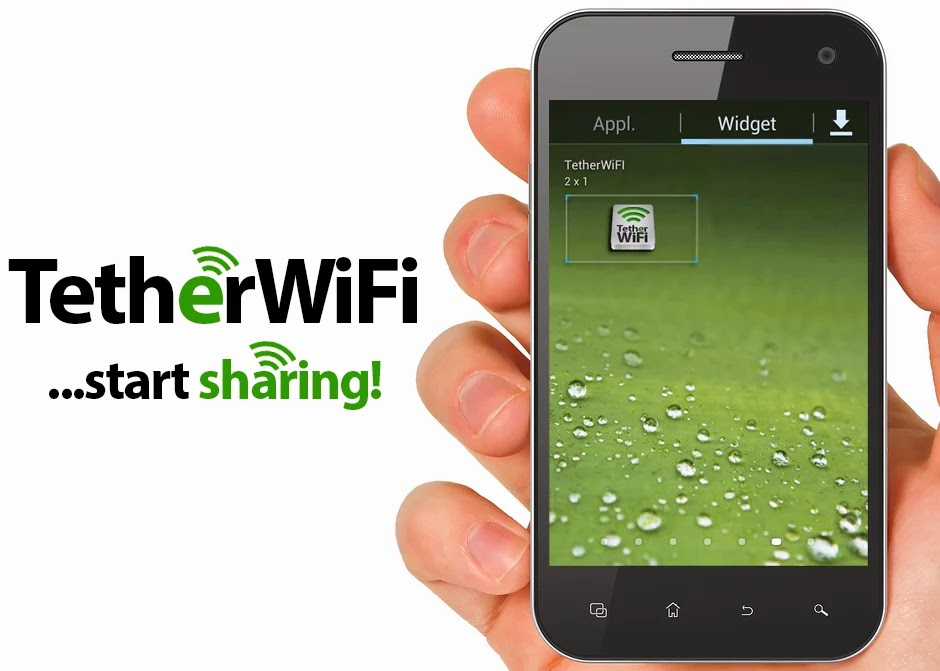 Tether WiFi Hotspot one click v2.0