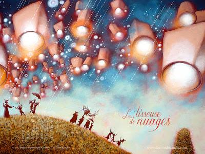 Fonds d'écran de décembre 2012, avec et sans calendrier (éditions Des ronds dans l'O)