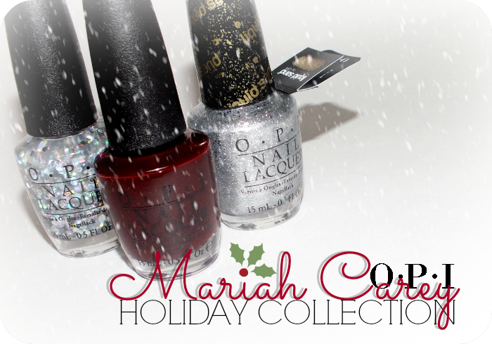 opi mariah carey holiday collection swatches | I Know all the Words