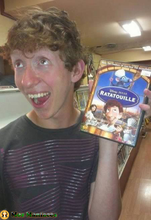 "Alfredo Linguini do Filme ""Ratatouille"""