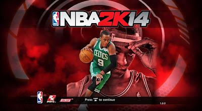 NBA 2K14 Rajon Rondo Startup Title Screen Mod Nba2k14-rajon-rondo-celtics-cover-game-screen-patch