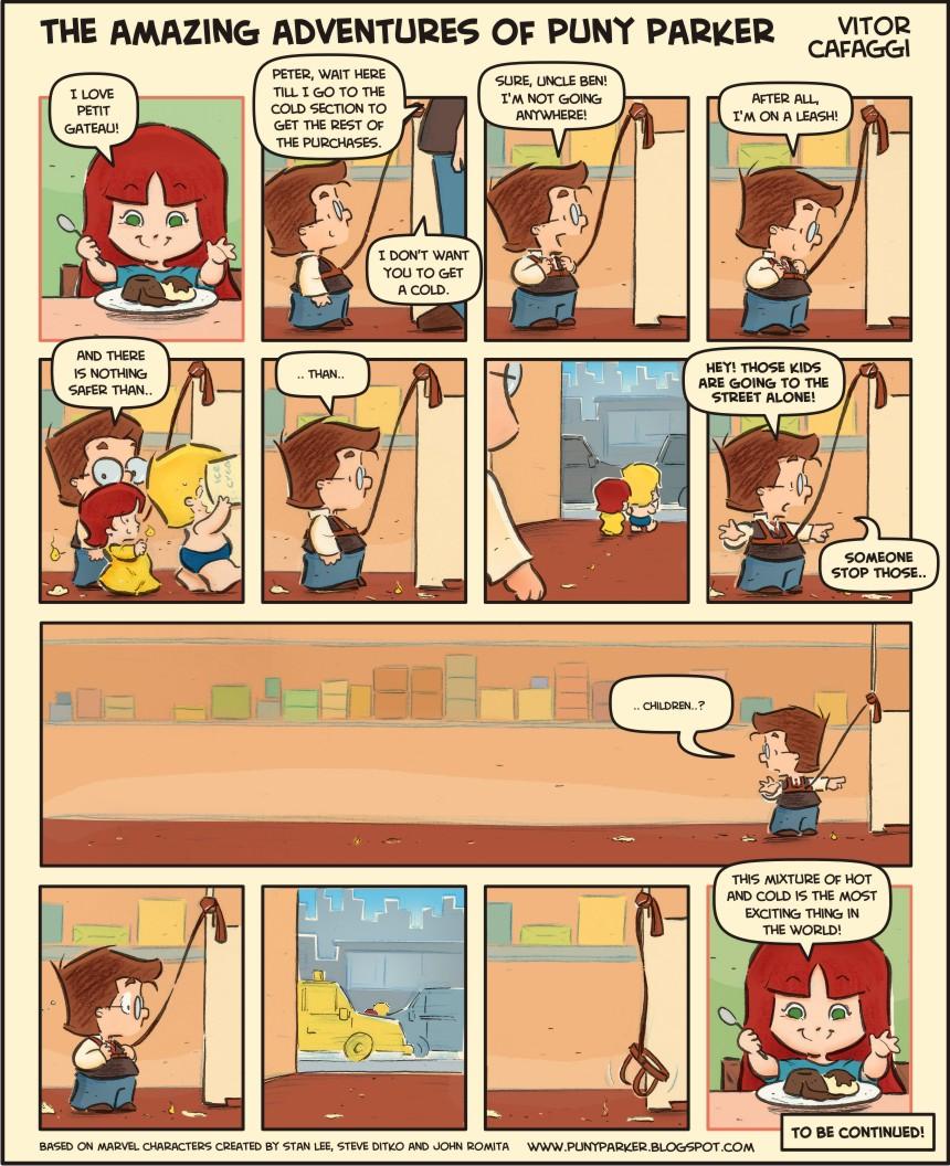 Comic strip puny