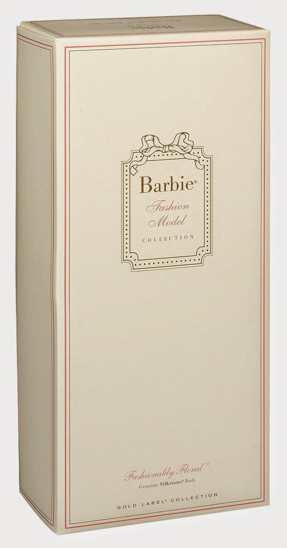 JUGUETES - BARBIE Collector  Fashion Model Collection | Gold Label  Fashionably Floral | Silkstone | Muñeca  Producto Oficial 2015 | Mattel CGK91 | Edad: Coleccionistas Adultos