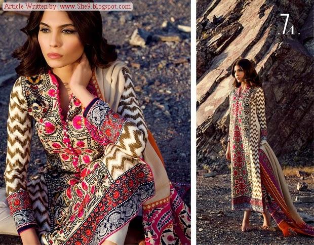 Sana Safinaz Shawl Magazine