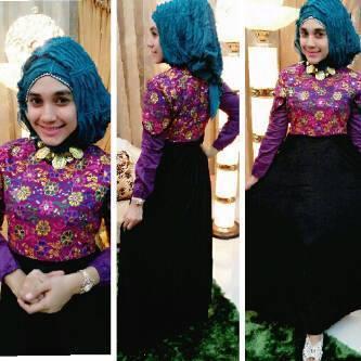 trend baju gamis khas aceh
