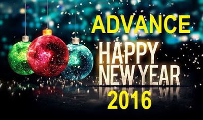 Happy New Year 2016 Wishes In Advance