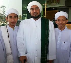 Habib Syech Assagef bersama Mudir Taalim Asyai'rah