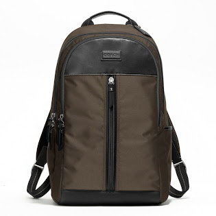Ready Stock Coach Varick Nylon Backpack #F70664 Brown