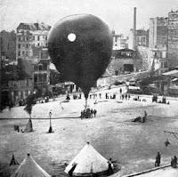 gas balloon during siege of paris