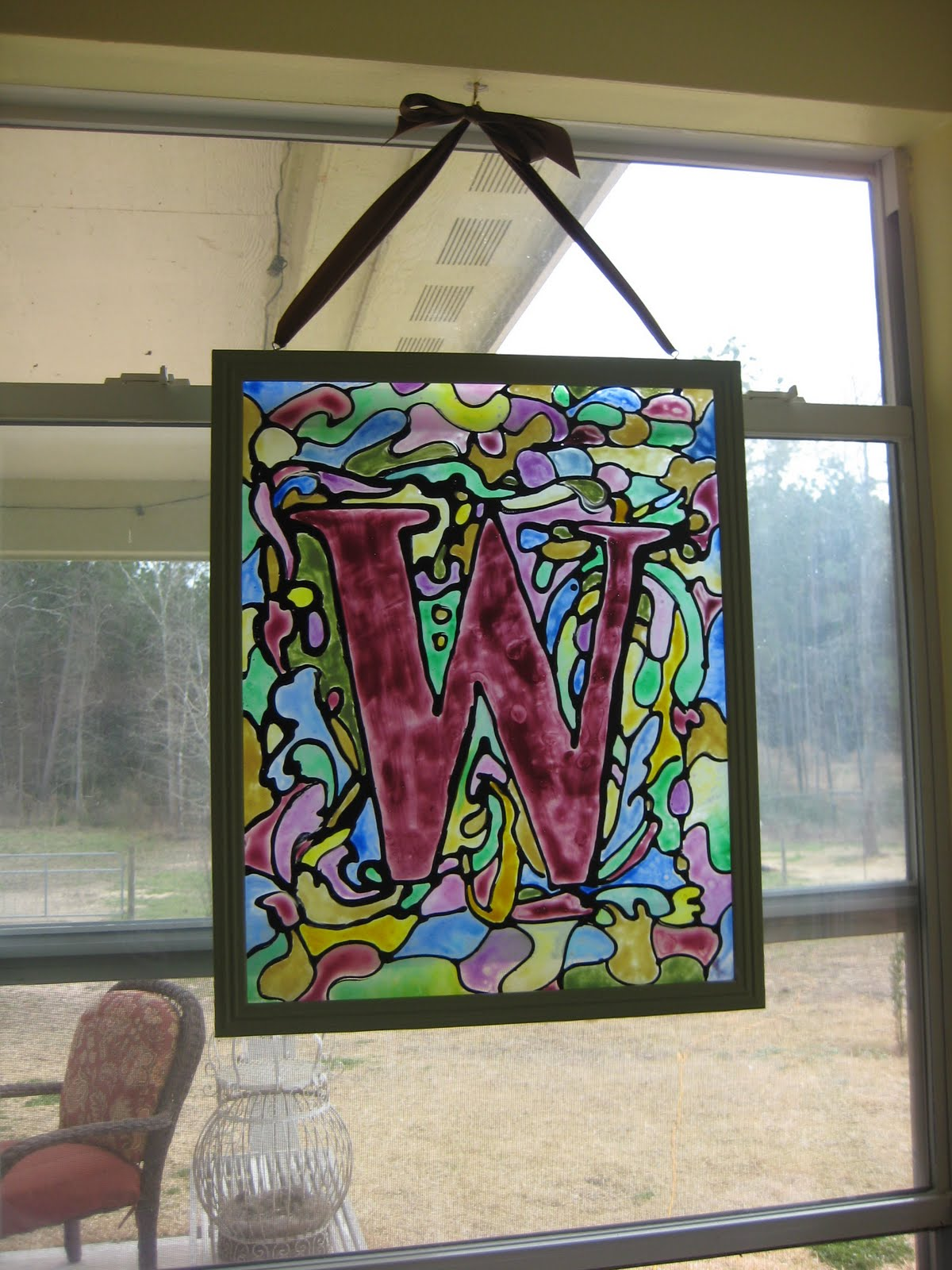 Lindsey 39 S Whimsy 39 S Stained Glass Project
