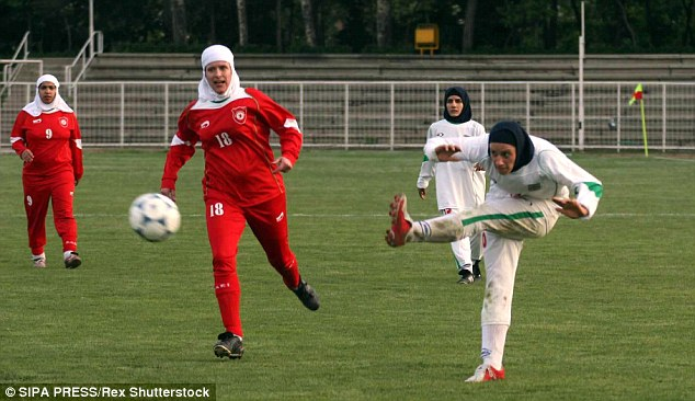Controversy as Iran women football team field 8 Men waiting for gender change operation!