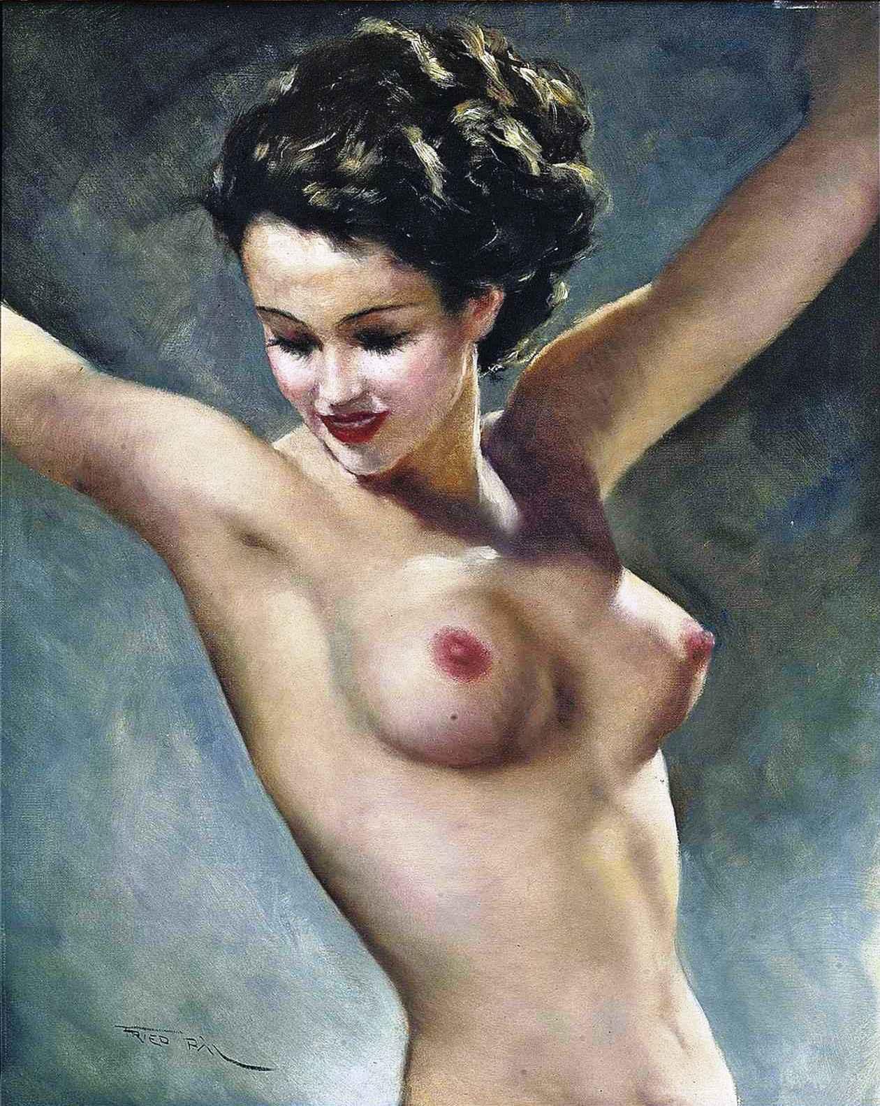 Эротический женский портрет 5 фотография