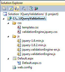 jquery validation