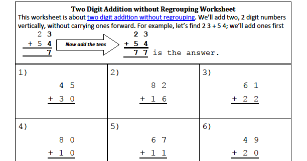 Worksheet #612783: Partial Sums Addition Worksheets – Partial Sums ...