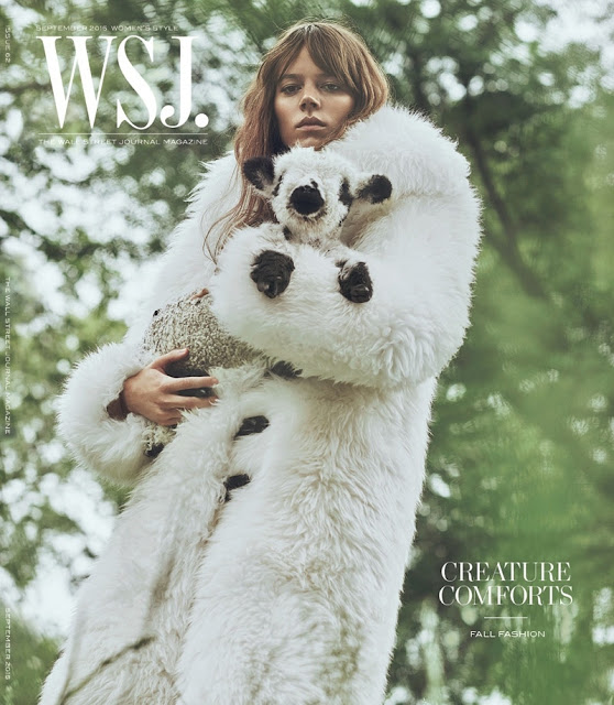 Fashion Model @ Freja Beha Erichsen for WSJ, September 2015