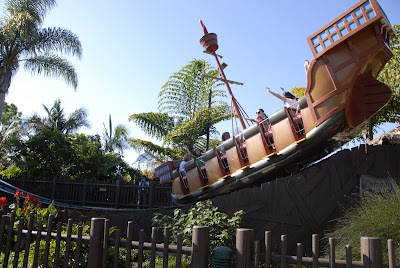 pirate ship at legoland