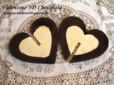 chocolate hearts for valentine day