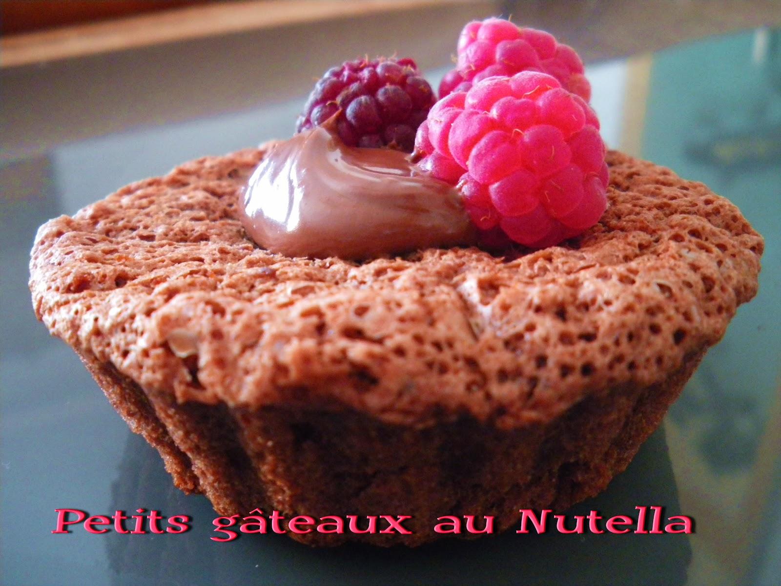 Gateau gaga love cakes petits g teaux au nutella - Gateau au nutella fondant ...