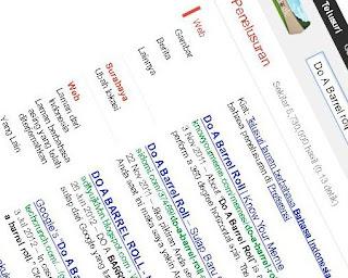 Tampilan yang menenangkan dari google, Google Pantastis