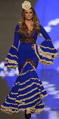 vestidos de flamenca Aurora Gaviño