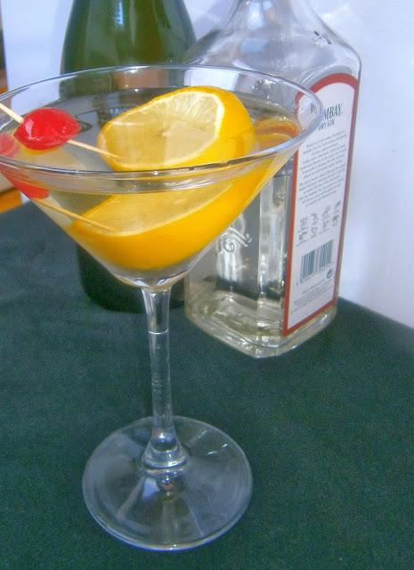 Martini Royale.