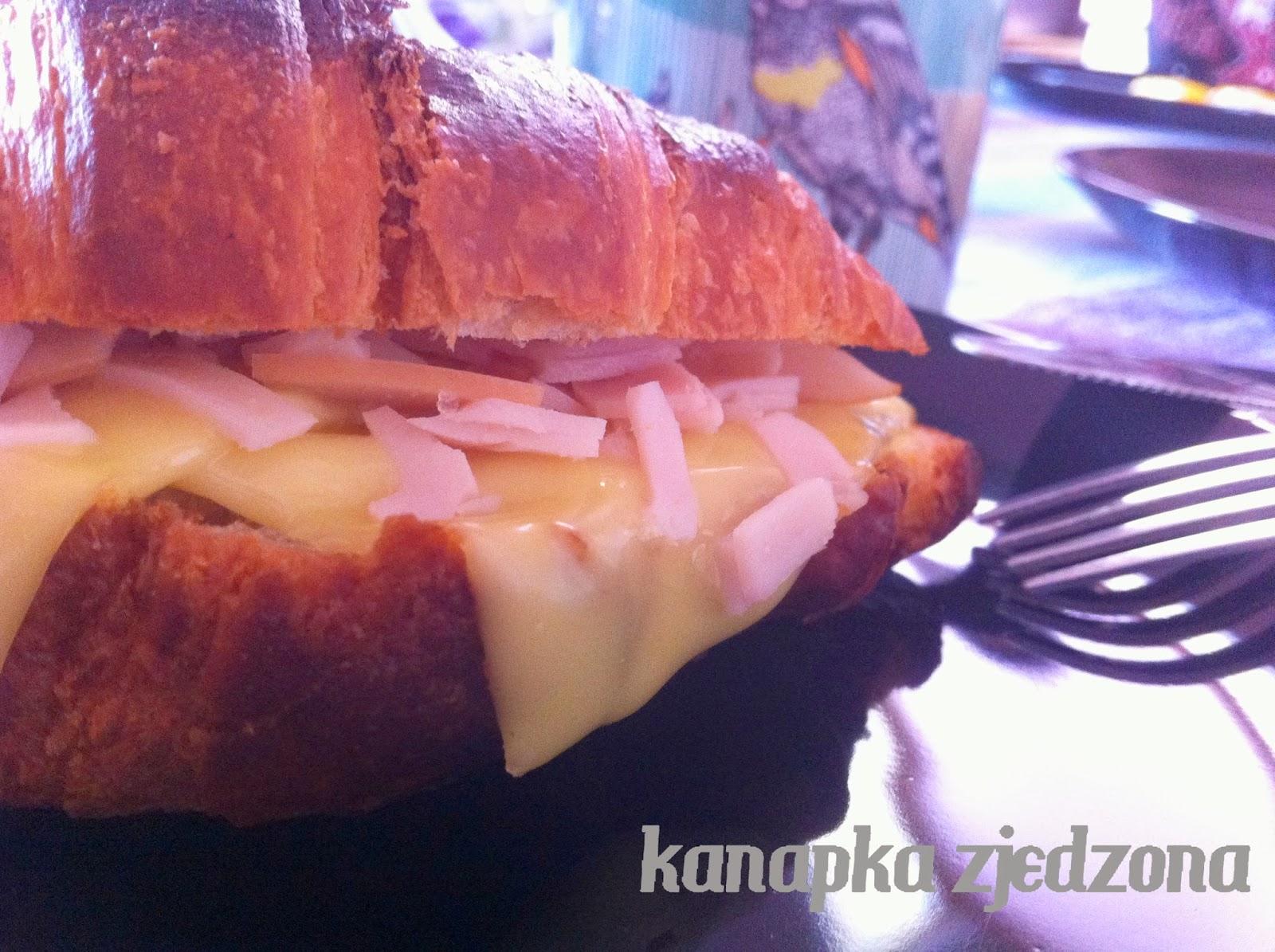 Hochland McDonalds ser szynka croissant śniadanie