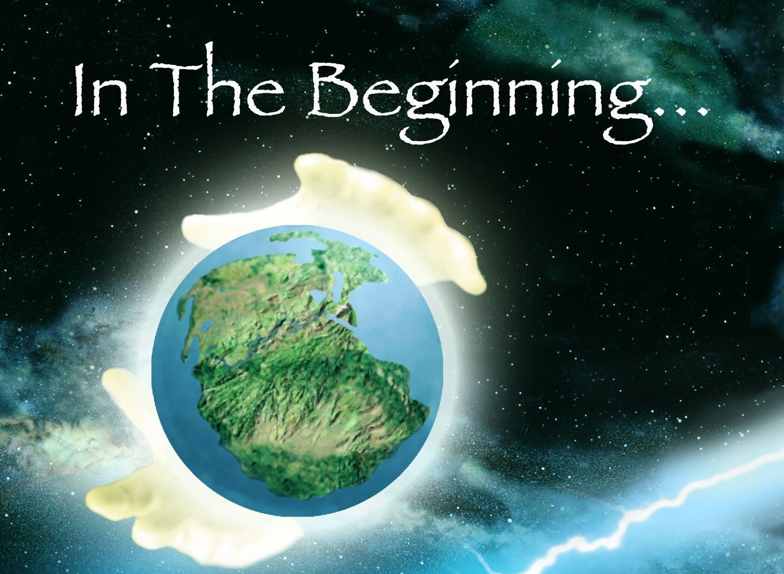 the mystery surrounding how the earth was created from the book of genesis