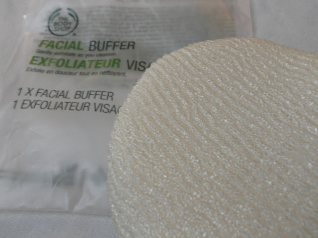 A picture of a The Body Shop Facial Buffer