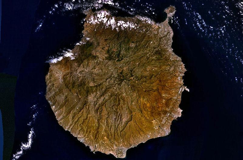 localidades importantes capital isla canaria: