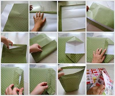 Teh tarik junction how to make a paper bag for How to make designer bags at home