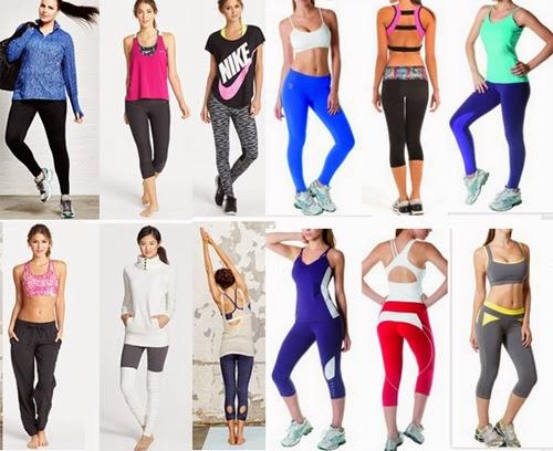ropa ejercicio