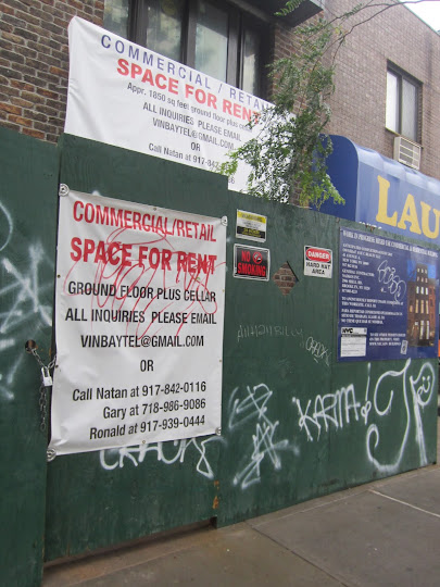 EV Grieve: On 2nd and B, retail space and and exposed