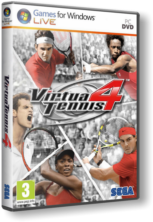 Virtua Tennis 4 - 1DVD