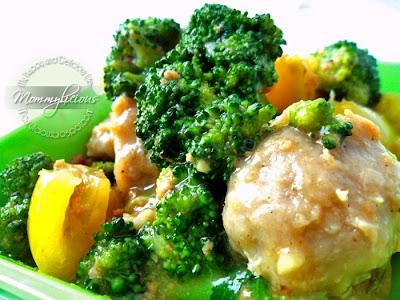 Brokoli Bakso