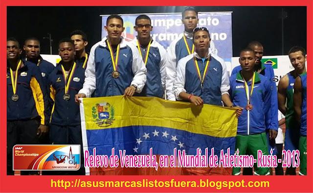 Venezuela-mundial de atletismo 2013