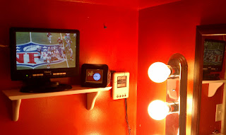 Bathroom media station