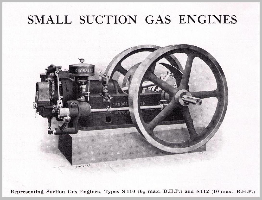 types of gas engines