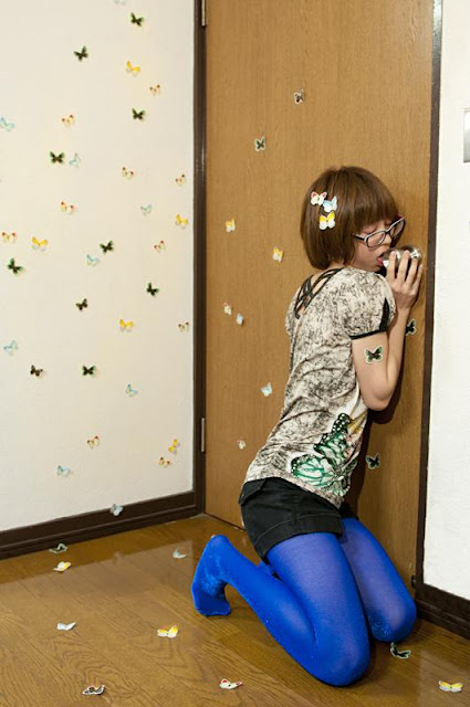 Japanese girl humps on door knob video can you