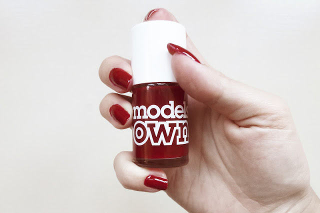 Models Own Red Red Wine Manicure