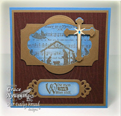 Our Daily Bread Designs Stamps - Away in a Manger