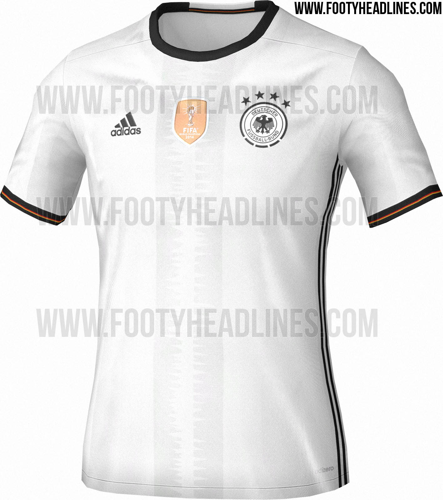 revealed germany euro 2016 kit to be launched on november. Black Bedroom Furniture Sets. Home Design Ideas