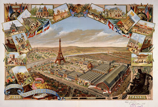 Paris Exposition of 1889, art conservation of paper lithograph