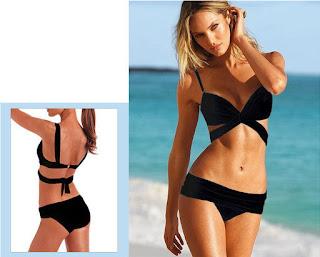 Sexy Hot Women's Swimsuit Padded Push-up Bikini Elegant Swimwear Set